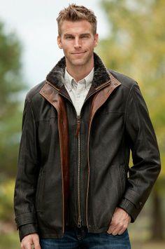 Men's Vernon Italian Lambskin Leather Jacket, BLACK, Size 42 Overland Sheepskin Co,http://www.amazon.com/dp/B00F2WLFQY/ref=cm_sw_r_pi_dp_py96sb1H9M8KTVC9