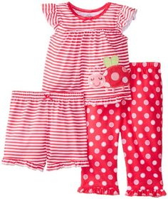 Little Me Baby-Girls Infant Little Lady Bug 3 Piece Pajama, Pink Print, 24 Months Little Me,http://www.amazon.com/dp/B00GTCWTU2/ref=cm_sw_r_pi_dp_pdDntb0N8ZEJG6YK
