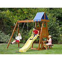 Plum Indri Wooden Climbing Frame Outdoor Play Centre | Activity Centres | ASDA direct
