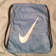 5e459d096d08 Nike Drawstring Bag Light Blue Navy Nike drawstring bag in great condition!  ❉I do not trade ❉Please feel free to make an offer ❉I do bundle discounts  ...