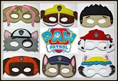 Handmade Kids Eye Mask Paw Patrol Mega Pack All 8 Characters Nickelodeon | eBay