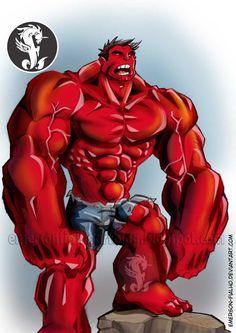 #Red #Hulk #Fan #Art. (RED HULK) By:Emerson-Fialho. (THE * 5 * STÅR * ÅWARD * OF: * AW YEAH, IT'S MAJOR ÅWESOMENESS!!!™)[THANK U 4 PINNING!!!<·><]<©>ÅÅÅ+(OB4E)