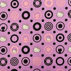 Fabric Store - Hello Kitty - ML233825 - Purple