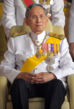 The Life of Thailand's King Bhumibol Adulyadej, in Photos