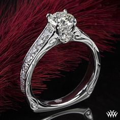 euro shank engagement rings - Google Search