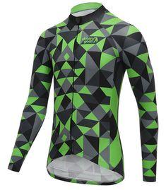 7fd78064f45d9 Bodyline LS Cycling Jersey - Men s Cracker