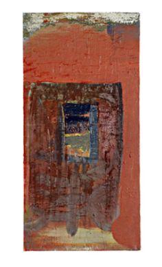 Matias Lehto, Nimetön, Oil on canvas / The Art of Basware 2006