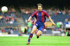 Imagen de Juan Antonio Pizzi como jugador del FC Barcelona
