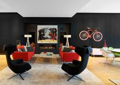 CitizenM Rotterdam, styled by BRICKS Amsterdam. Pictures made by Richard Powers.
