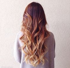 back to school hairstyle dip dye