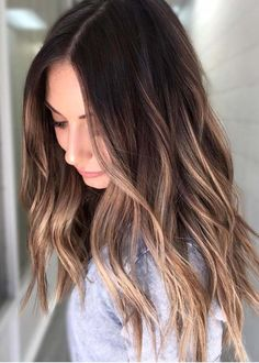 Dont be afraid to try bold hair colors. There are so many hair color trends for ladies to show off but the beautiful shades of rooted blonde balayage hair colors are awesome nowadays. See here and one of the best option of this hair color for you to wear in 2018.