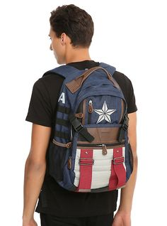 Captain America bag found at Hot Topic.