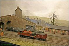 Model railway layout - Llanastr