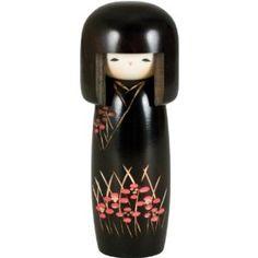 Japanese Kokeshi Doll Sakura Blossom
