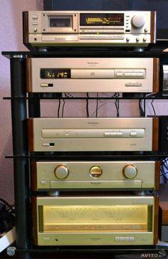 Technics – Re becca – Audioroom Hi Fi System, Audio System, Technics Hifi, Speaker Amplifier, Audio Design, Audio Room, Audio Sound, Record Players, Audio Player