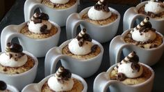 Calling all dessert lovers: mini espresso mousse cups. #FSTaste
