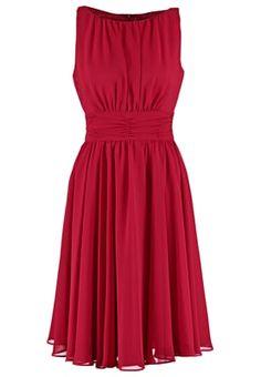 Sukienka koktajlowa - braunrot/braunrot