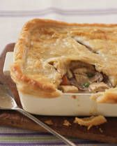 This is the chicken/turkey pot pie recipe I swear by...Greg & Madi can never get enough of this when I make it! So delicious!!