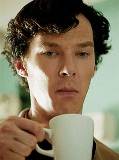 Sherlock & his mouth thing