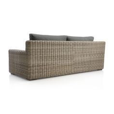 Cayman Outdoor Sofa with Sunbrella ® Cushions Grey Cushions, Indoor Outdoor Rugs, Outdoor Sofa, Outdoor Decor, Clearance Outdoor Furniture, Modern Frames, Brown Shades, Fun Drinks
