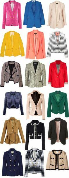 Ceketler, ceketler, ceketler…