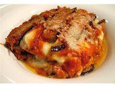 Parmigiana di melanzane...eggplant parmesan