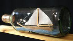 Vidros cortados? Pinças? Paciência? Nada disso! O segredo de construir um barco dentro de uma garrafa é muito mais simples! Sempre que