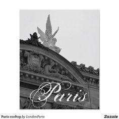 Search for customizable Paris posters & photo prints from Zazzle. Check out all of the spectacular designs or make your own! Steve Thomas, Paris Rooftops, Paris Poster, Illustration Art, Poster Prints, Design