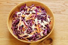 Write a classic - shopping list - and enjoy this 'timeless' cabbage salad.