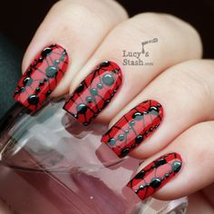 Lucy's Stash - Beaded Pattern Nails