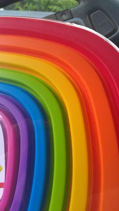 Rainbow bowls