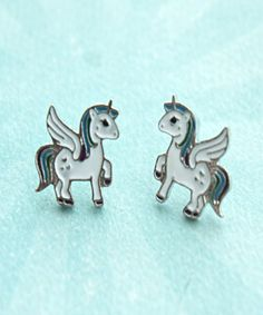 unicorn earrings - Jillicious charms and accessories - 1