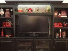 1000 images about seasonal entertainment center on. Black Bedroom Furniture Sets. Home Design Ideas