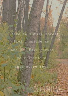 Check out this item in my Etsy shop https://www.etsy.com/listing/515693537/nature-print-i-have-an-entire-forest