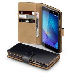 Köp Terrapin Mobilplånbok Huawei Honor 7 svart/brun online