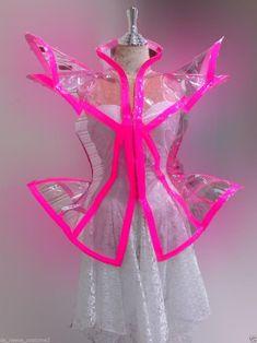 Lady Gaga Dresses, Dance Dresses, Trajes Drag Queen, Space Fashion, Fashion Design, Lady Gaga Fashion, Swag Girl Style, Quirky Fashion, Kawaii Clothes