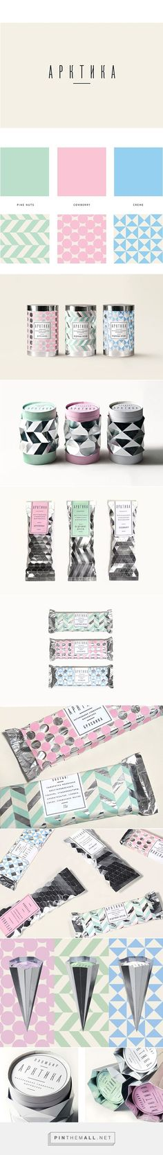 Arktika Ice Cream Packaging by Natasha Chuvinova on Behance | Fivestar Branding – Design and Branding Agency & Inspiration Gallery