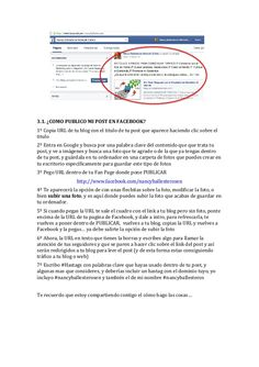 II) Paso a paso de como publicar en facebook, en  google+ y en Twitter by #nancyballesterosen for #empowernetwork y #lazymillionaires #comopublicar #publicarcontenido VII Vii, Fails, Blog, Internet, Marketing, Facebook, Twitter, Google, Key Tags