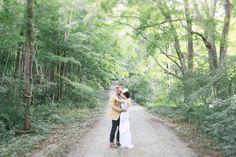 Woodsy wedding portraits | Meg Haley Photographs