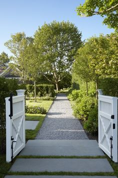 No matter how perfect a home's interior if the exterior falls flat something is missing. Hollander Landscape Architects offer plenty of outdoor inspiration. House Landscape, Landscape Design, Garden Design, Garden Gates And Fencing, Garden Paths, Side Garden, Backyard Landscaping, Residential Landscaping, Garden Inspiration