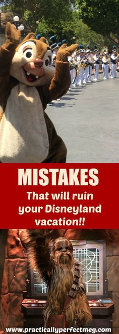 Mistakes That Will Ruin Your Disneyland Vacation