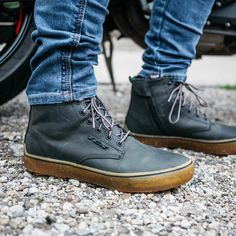 These TCX Dartwood Riding shoes have been hard to keep in stock since they got to the shop this summer. All the protection of a riding boot with a bonus waterproof lining and none of the bulk when riding on those +25 days! Also available in brown. Check them out online / in the shop - link in bio. Motorcycle Riding Gear, Motorcycle Shoes, Gore Tex, Best Brand, Riding Boots, Footwear, Man Shop, Sneakers, Motorcycles