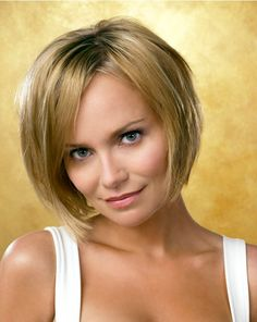 kristen chenoweth with short hair | Short Bob Haircut for Straight Hair: Kristin Chenoweth Hairstyles ...