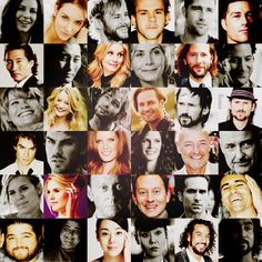 Faces of #LOST :D I love you guys! Except for you, Boone. You still creep me out.