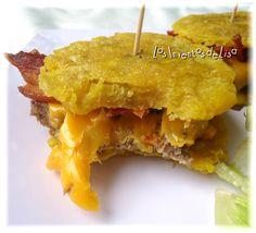 Los Inventos de Lisa: Jibarito Bacon Cheeseburger