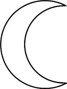 29 Best Crescent Moon Outline Tattoo images in 2017   Moon ...