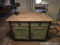 Oude keuken kasten op pinterest keukenkasten kasten en keuken kast deuren - Keuken in het oude huis ...