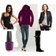 Black & Purple, Fall & Winter