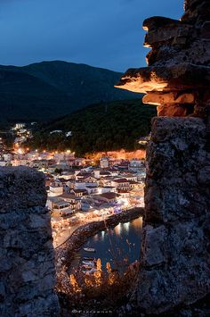 Castle View. Greece