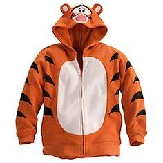 Tigger Fleece Hoodie for Boys  sc 1 st  Pinterest & DIY Tigger T-Shirt Costume | Speaking of Disney... | Disney ...